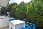 Üç Kişilik Bahçe Katı Odamızın Balkonu