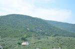 Pansiyonumuzdan Dağ manzarası