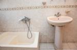 8 Kişilik Apart Dairemizin Banyosu