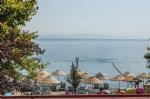 Otelimizden Deniz ve Plaj Manzarası
