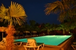 Havuzumuzdan Gece Görünümü