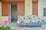 Beş Kişilik Deniz Manzaralı Odamızın Balkonu