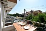Üç Kişilik Mutfaklı Odalarımızın Balkonu