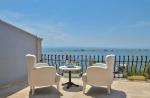 Çift Kişilik Odamızın Balkonundan Deniz Manzarası
