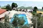 Motelimizden Havuz ve Deniz Manzarası