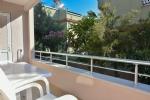 Dört Kişilik Mutfaklı Odamızın Balkonu