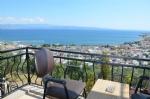 Çift Kişilik Odalarımızın Balkonundan Deniz Manzarası